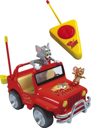 Tom and Jerry Radio Controlled Jeep 4 x 4 with removeable Tom and Jerry figures