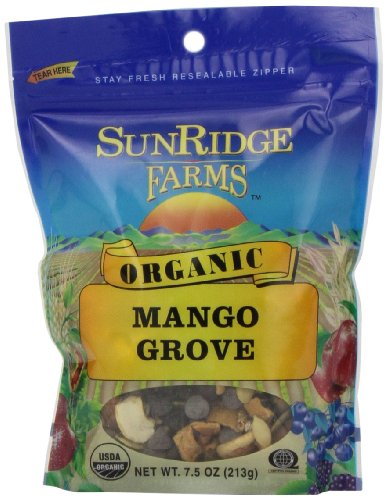 Sunridge Farms Organic Mango Grove, 7.5-Ounce Bags (Pack of 12) (Organic Trail Mix Snack Packs compare prices)
