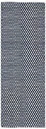 Safavieh Boston Collection BOS685D Handmade Navy Cotton Runner, 2 feet 3 inches by 7 feet (2\'3\