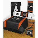 NHL Philadelphia Flyers Twin Bedding 2 Pc Comforter Set
