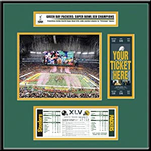 NFL Green Bay Packers Super Bowl XLV Champions Ticket Frame Jr. by That