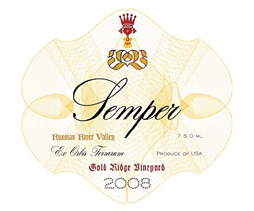2008 Semper Gold Ridge Vineyard Russian River Pinot Noir 750 Ml