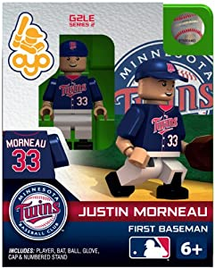 Justin Morneau 2013 Generation 2 Oyo Mini Figure Minnesota Twins by Panini