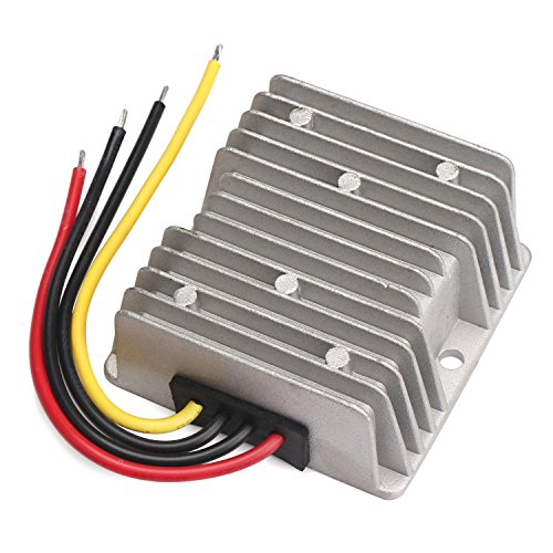 DROK Club Car Golf Car DC Voltage reducer 36V 48V to 12V 20A Voltage Step Down Buck Converter Battery Power Supply Volt Regulator Transformer 240W Wide Input Range 30-60V High Effiency (Club Car 6 Volt Batteries compare prices)