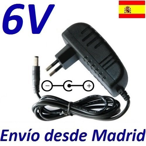 cargador-corriente-6v-reemplazo-bicicleta-eliptica-nordictrack-e7-recambio-replacement