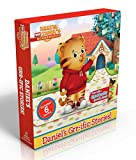 img - for Daniel's Grr-ific Stories! (Comes with a tigertastic growth chart!): Welcome to the Neighborhood!; Daniel Goes to School; Goodnight, Daniel Tiger; ... Baby Is Here! (Daniel Tiger's Neighborhood) book / textbook / text book