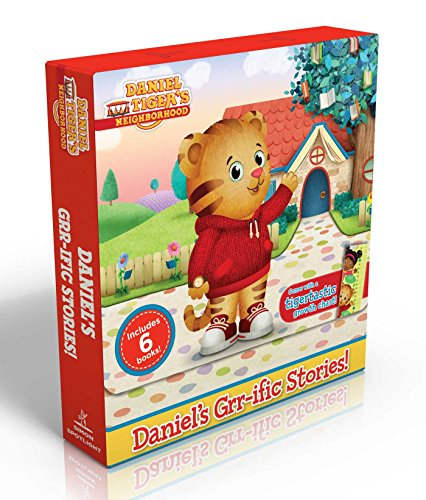 Daniel's Grr-Ific Stories! (Comes with a Tigertastic Growth Chart!): Welcome to the Neighborhood!; Daniel Goes to School; Goodnight, Daniel Tiger; Dan (Daniel Tiger's Neighborhood)