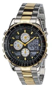 Accurist Skymaster Gents Multifunction Bi-Colour Watch