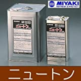 MIYAKI ニュートン(濡れ色仕上げ) [4L] ミヤキ 建築石材用浸透性保護剤・防汚剤 御影石 大理石 磁器タイル レンガ セメント