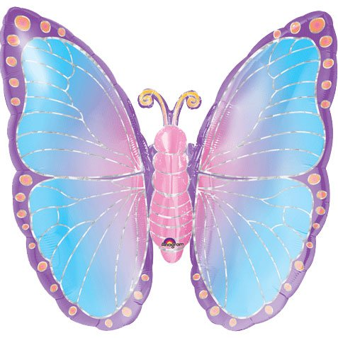 Anagram International Prismatic Butterfly Shape, 25""