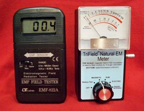 822A Digital Emf Meter & Trifield Natural Em Meter