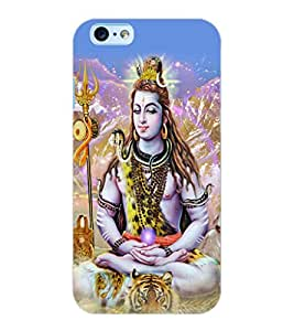 ColourCraft Lord Shiva Design Back Case Cover for APPLE IPHONE 6S