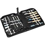Vktech® Culinary Carving Tool Set 46 Piece Fruit/vegetable Garnishing/cutting/slicing Set Garnish Kitchen Tool Set