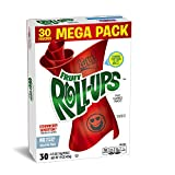 Fruit Roll-Ups Fruit Flavored Snacks, Strawberry Sensation, 0.5 Ounce (30 Count Rolls)