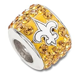 NFL New Orleans Saints Premier Bead