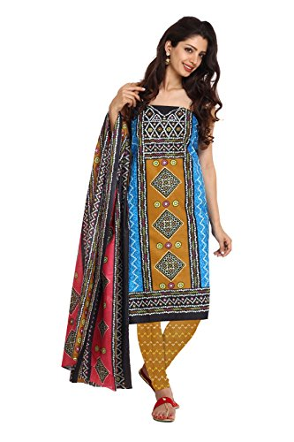 Aryahi Women's Cotton Dress Material (70415_Multi ...