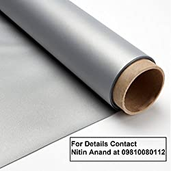 Inlight Imported 3D Silver Coated Grey Screen for Masking/Framing purpose, Raw Material/Fabric, Size: - 10 Ft. x 6 Ft., 16:9 Format, 2.5 Gain