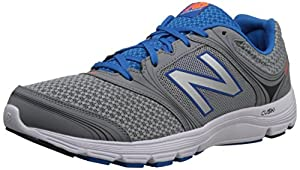 New Balance Men's M850SB1 Running Shoe,Silver/Blue,10 D US