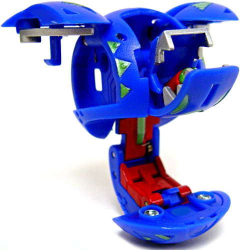 Bakugan Bakuglow Single LOOSE Figure Blue Aquos LEEFRAM [Toy] - 1
