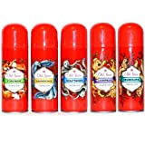 5er SET Old Spice Wild Collection Deo Spray Wild Ra
