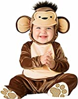 Lil Characters Unisex-baby Infant Monkey Costume small