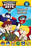 img - for Transformers: Rescue Bots: Team of Heroes (Passport to Reading Level 1) book / textbook / text book