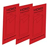 HOKO (Pack Of 3) Edge To Edge Anti Glare Matte Screen Protector Scratch Guard For Samsung Galaxy S6 Edge+ [With...