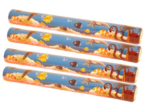 WeGlow International Sea Life Foam Baton, Set of 4