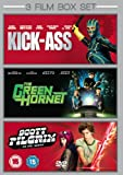 3 Film Box Set: Green Hornet / Kick Ass / Scott Pilgrim Vs The World [DVD]