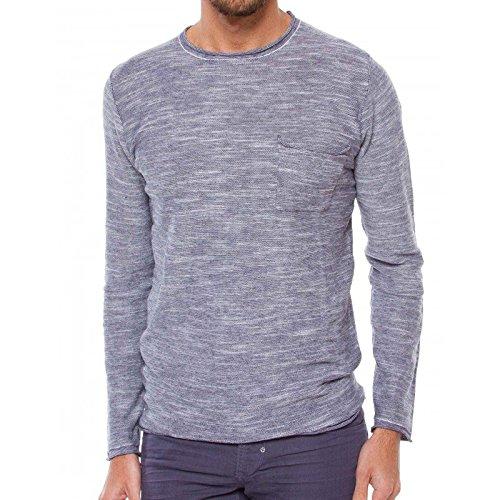 Antony Morato Pullover Uomo Maglione Sweater Slim Fit Blu Marine (Col. 7029) L
