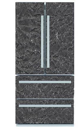 excelsior gn1 53 black water k hl gefrierkombination side by side a 458 kwh jahr 371 l. Black Bedroom Furniture Sets. Home Design Ideas