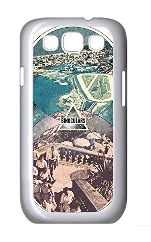 Binoculars Thin & Slim Custom Printed Case Cover For Samsung Galaxy S3 I9300 White (730) -82454