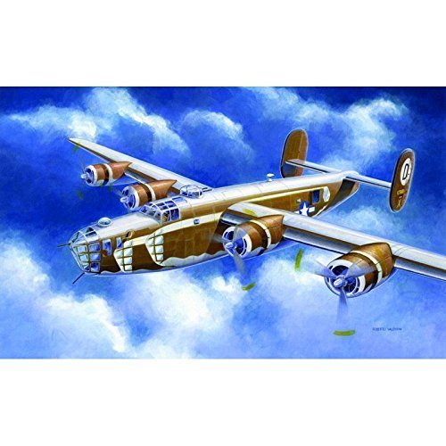 T2M Italeri I1285 Model Aeroplane for Self-Assembly B-24d Liberator 1:72 Scale by Italeri