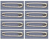 SAFETY PINS Size 0 (7/8