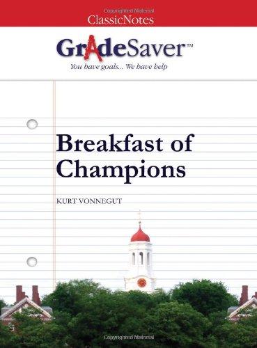 an analysis on breakfast of champions by kurt vonnegut