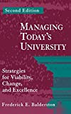 img - for Managing Today's University: Strategies for Viability, Change, and Excellence book / textbook / text book