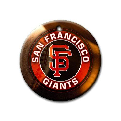 Giants Baseball Ornament round porcelain Christmas Great Gift Idea San Francisco