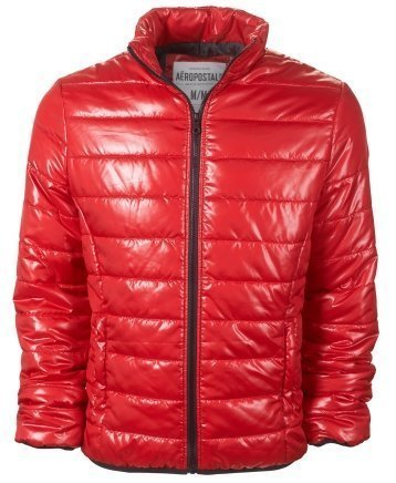 Aeropostale Mens/Juniors Puffer Jacket in Red - New Season (X-Small)