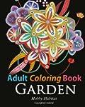 Adult Coloring Book: Enchanted Garden...
