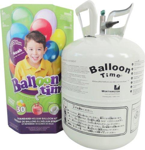 Worthington Standard Helium Balloon Kit Party Accessory by Worthington Cylinders (Standard Helium Balloon Kit)