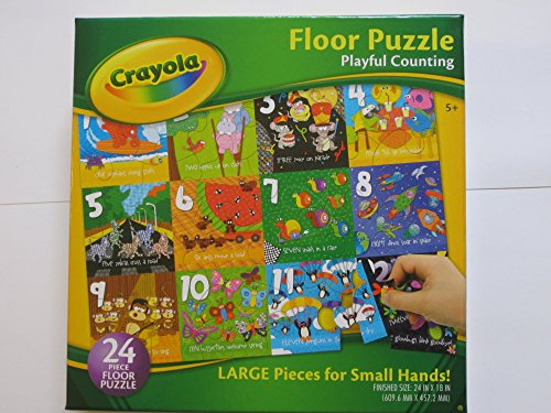 Crayola Playful Counting - Floor Puzzle