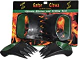 Gators Claws Meat Handler Shredder, Salad Pasta Hold Toss and Serve Forks Tongs with Soft Non-Slip Grip