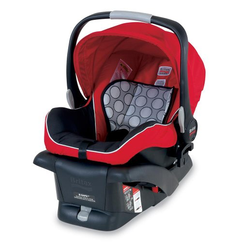 Britax B-Safe Infant Car Seat, Red