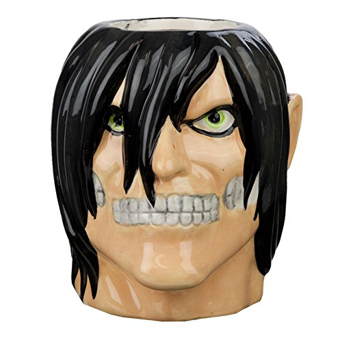 Attack On Titan - Eren Yeager Molded Mug (Aot Merchandise compare prices)
