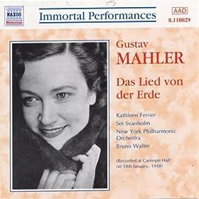 Mahler: Das Lied Von Der Erde (Ferrier / Svanholm) (1948)