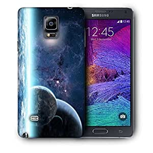 Snoogg Stars In Galaxy Printed Protective Phone Back Case Cover For Samsung Galaxy NOTE 4 / NOTE IIII