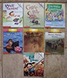 img - for Set of 7 Rookie Readers (Giggle Belly ~ Wait, Skates ~ One Happy Classroom ~ Fall Leaves ~ Horse, Horses, Horses ~ Life in a Pond ~ Spiders Are Not Insects (Science)) book / textbook / text book