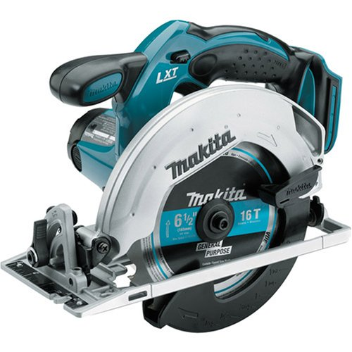 Makita Bare-Tool BSS611Z 18-Volt LXT Lithium-Ion Cordless 6-1/2-Inch Circular Saw image