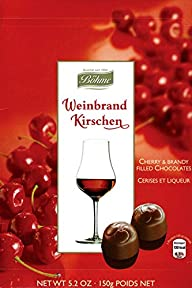 Boehme Brandy & Cherry Filled Chocola…