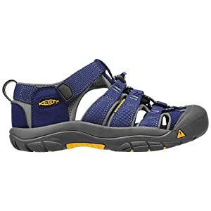 KEEN Newport H2 Sandal (Toddler/Little Kid/Big Kid),Blue Depths/Gargoyle,1 M US Little Kid